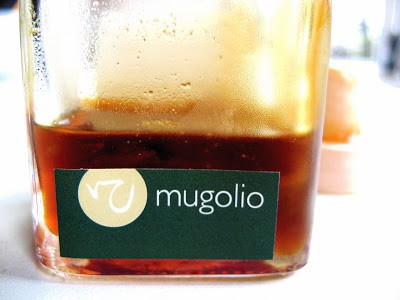 shot of mugolio in a container