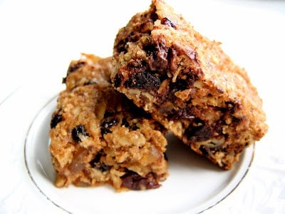 a stack of breakfast bars