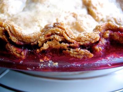 close up of sourdough crust