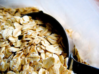 close up of oats