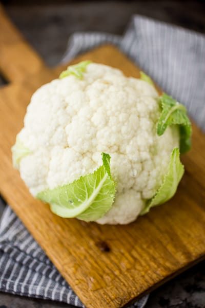 shot of cauliflower