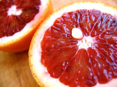 close up of citrus fruit