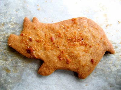 maple bacon sugar cookie