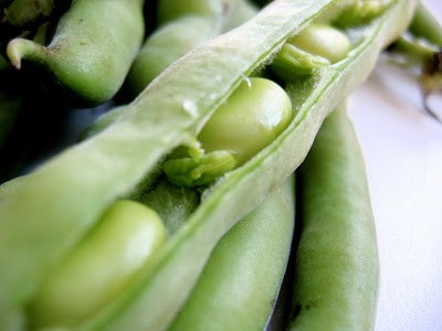 close up of peas