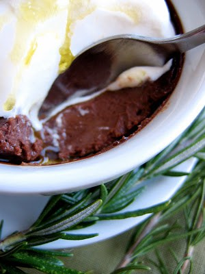 spoon in the pots de creme