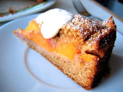 slice of peach buckle