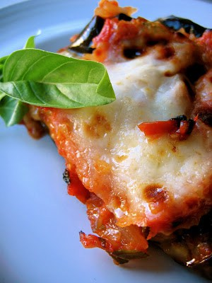 slice of eggplant parm
