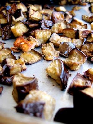 eggplant roasting