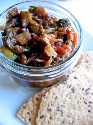 jar of caponata
