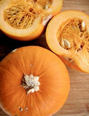 pumpkin halves