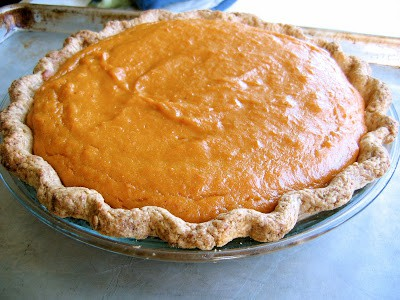 pie in a dish