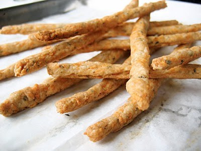 cheese sticks piled up
