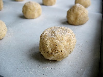 balls of cookie dough