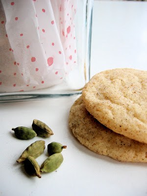 snickerdoodles and cardamom seeds