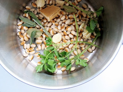 white bean in a bowl