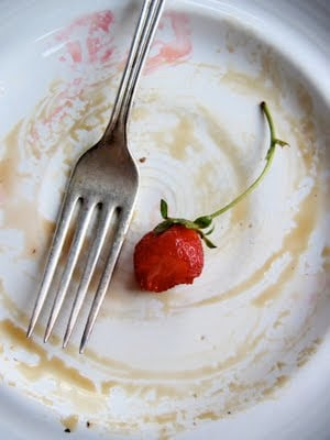 plate with a fork