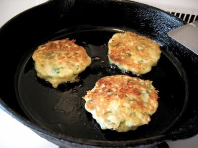 griddle cakes in a skillet
