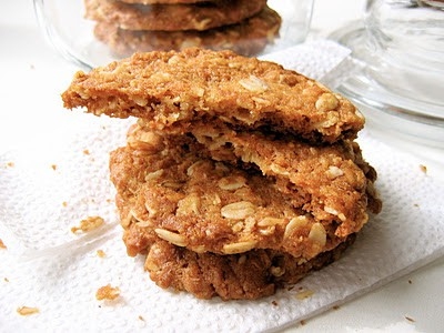pile of anzac biscuits