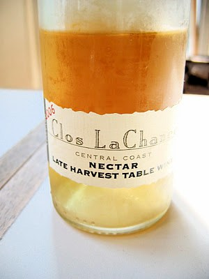 a bottle of table wine