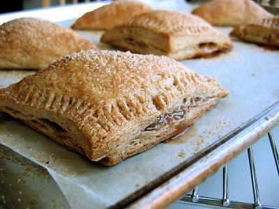 apple turnovers after baking