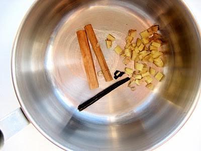 cinnamon in a pot