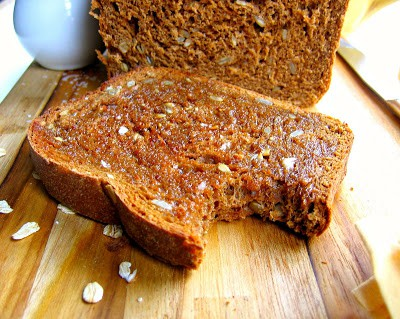 slice of molasses bread