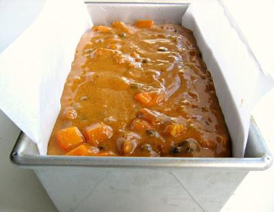 tea cake before baking