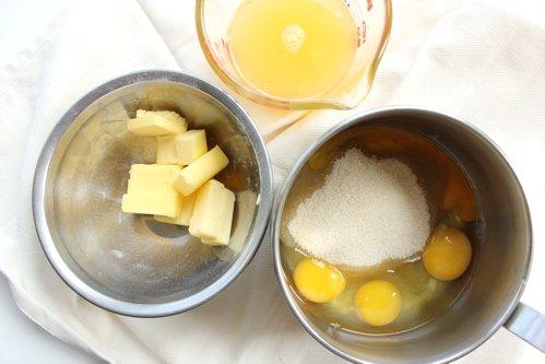 pots of ingredients
