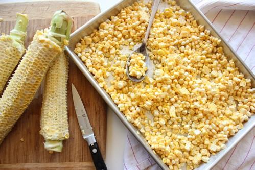 corn in a dish