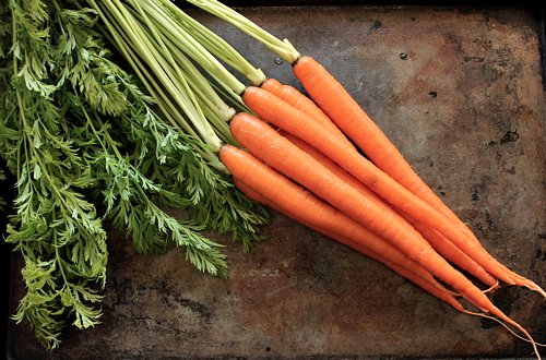 carrots for carrot coconut curry soup