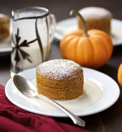 delicious pumpkin pudding cake