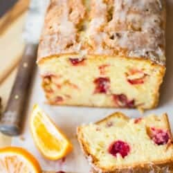 cranberry tea cake