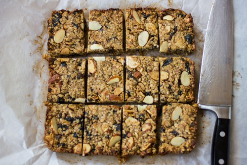 slab of breakfast bars