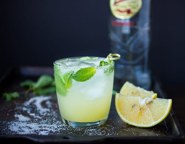 Sparkling Lime Mint Quencher