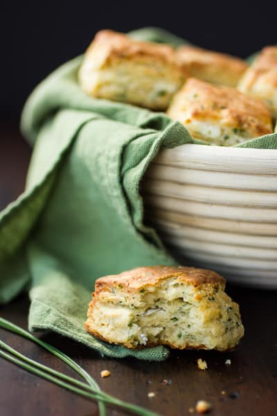 cheese and chive biscuit