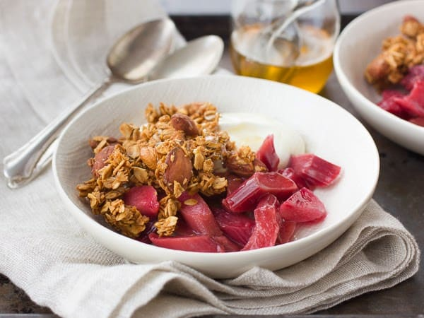 coconut granola in a bowl