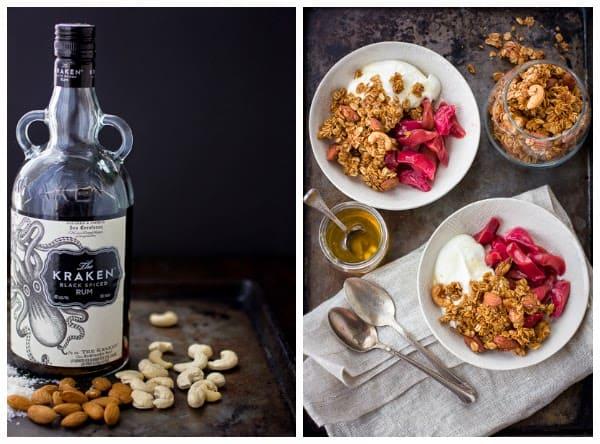 rum coconut granola