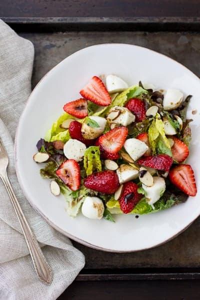 Strawberry Caprese Salad • The Bojon Gourmet