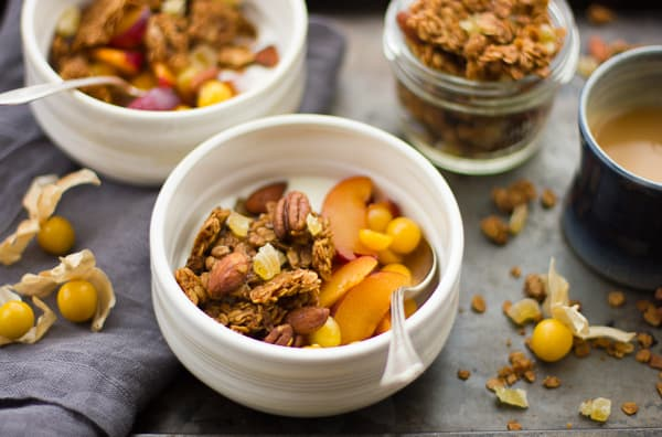 bowls of Gingersnap Granola