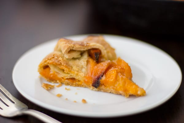 slice of (Gluten-Free!) Late-Season Apricot and Mascarpone Galette