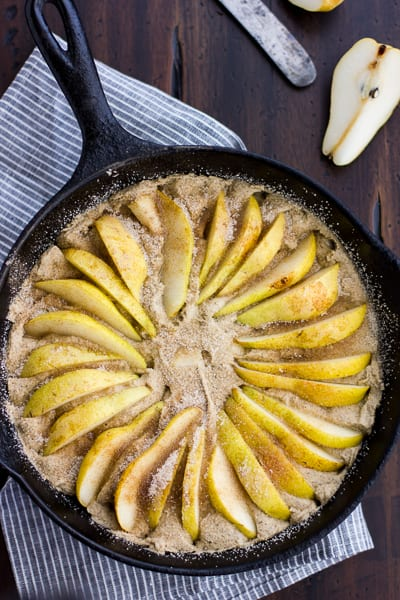 pear topping