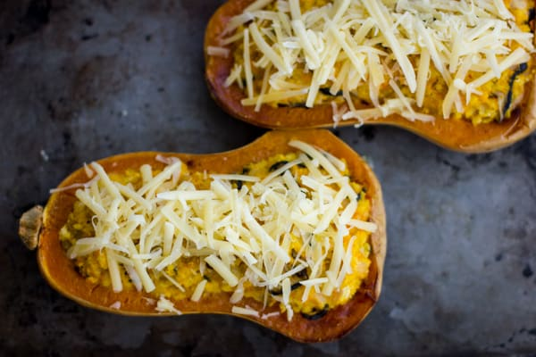 cheese on squash