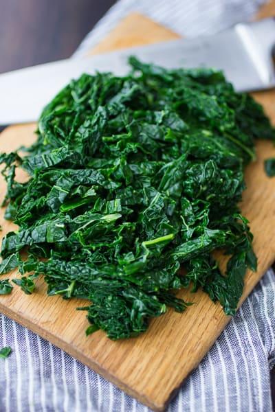 chopped veg