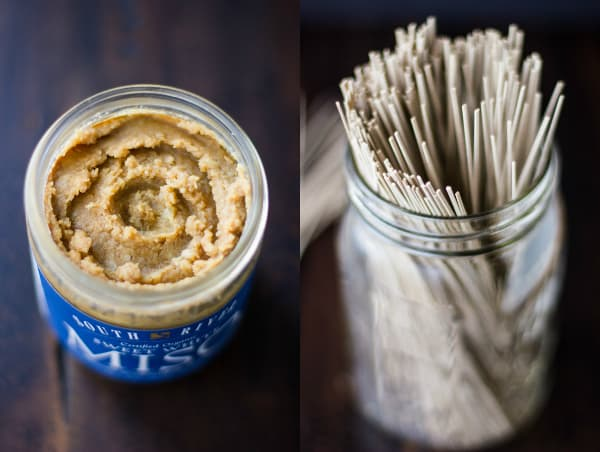 jar of miso paste
