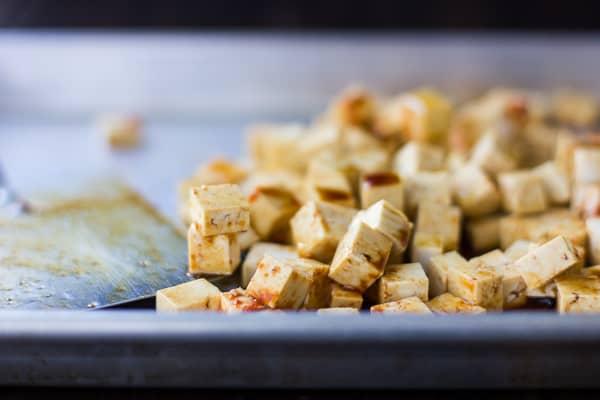 pile of tofu