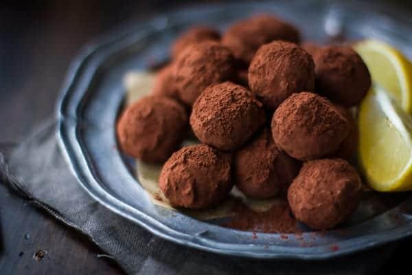 delicious Bergamot Truffles