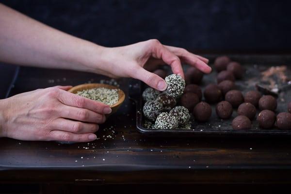 seeds on energy balls