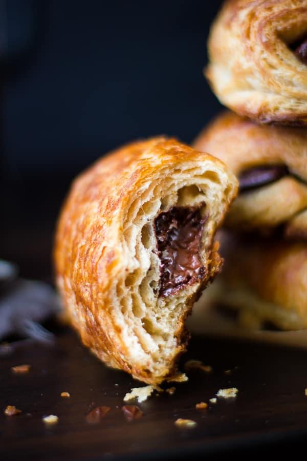 delicious Rye Flour Pains au Chocolat (Chocolate Croissants)