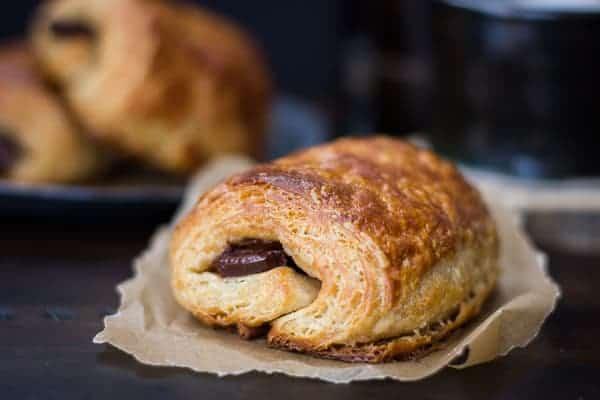 Rye Flour Pains au Chocolat