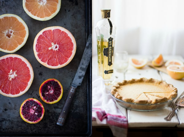 grapefruit and pie